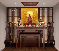Phong thủy bàn thờ và những điều cần lưu ý